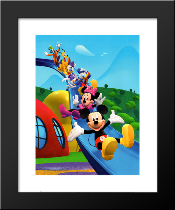 Mickey Mouse Clubhouse: Friends = Fun 15x18 Framed Art Print by ...