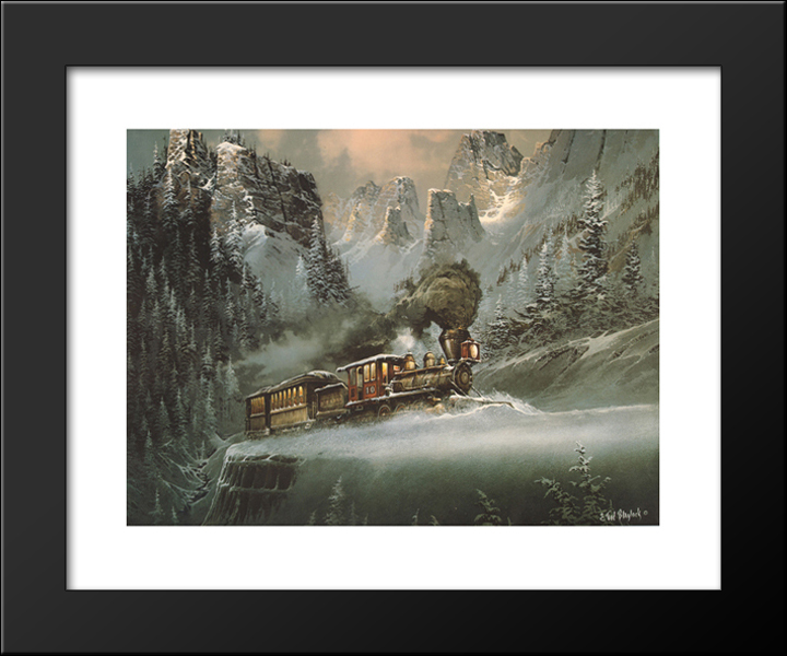 Upward Pull 24x20 Black Wood Framed Art Print by Ted Blaylock | eBay
